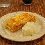 東白庵 かりべ - 旬の一皿 出汁巻き玉子