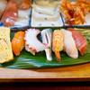 いこま寿司 - 料理写真:サービスランチ にぎり @500円 こちらにお味噌汁付き。
