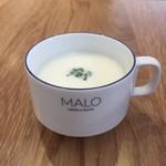 マロ ガレット アンド キッシュ - スープ