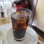 コーヒーショップ ダイニングカフェ カメリア - アイスコーヒー(ケーキセット)