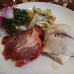 三和楼 - 冷菜三種盛り合わせ