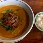 れんげ食堂 - 坦々麺 ¥695 + 小ライス 無料