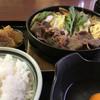 すき焼 加茂川 - 料理写真:すき焼き鉄鍋ランチ