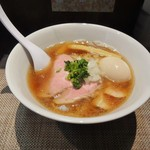神保町 黒須 - 特製煮干蕎麦\1000(17-03)