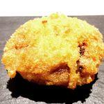 フレンチ串揚げ BEIGNET - ⑨原木椎茸と豚ミンチ肉詰め