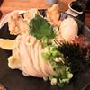 うどん 色彩 - 料理写真:鶏玉天ぶっかけ冷大930円(税込) ※大盛は+100円