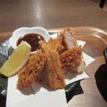 海神庵 - 揚げたてヒレカツは油っぽくなく揚げてあってとても美味しかったです。