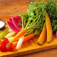 季節野菜のベジタブルスティック