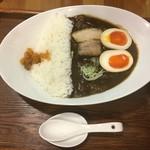 麺家 西陣 - ダムカレーラーメン