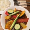 CLOVE - 料理写真:いろどり野菜を食べるカレー