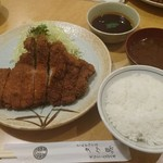 タケ馬 - 料理写真:特製とんかつロース200g 1,560円