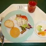 ザ・ビーチタワー沖縄 - 朝食のバイキング