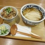 讃式 - ひやかけ 牛めしセット900円