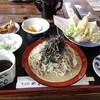 やま田 - 料理写真:天ざる 1200円