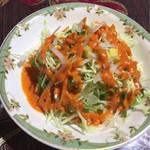 シブ・シャンカル - ランチセットのサラダ