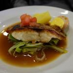 ラ・ブラスリー - 鯛のポワレ