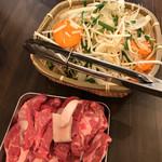 ジンギスカン 楽太郎 - 食べ放題¥4200コース120分始まります