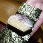 おかもと - 鯖寿司海苔巻き