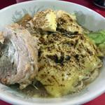 蒙麺 火の豚 - 料理写真: