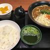麺2 - 料理写真:カレーうどん☆★★☆TKG