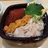 久慈浜 みなと寿し - 料理写真:【2017/3】三色丼アップ