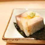 鮓職人 秦野よしき - 鯖の棒寿司