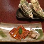 みやじまの宿 岩惣 - 焼き牡蠣と焼き穴子
