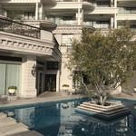 ホテル ラ・スイート神戸ハーバーランド - 早朝のガーデン、お世話になりました