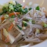 赤坂 四川飯店 - 野菜と春雨の炒め煮