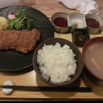 牛かつと和酒バル koda - 牛カツ膳(シングル)