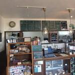 ジャママート コーヒー - 調理場方向