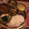 ネパール料理バルピパル - 料理写真:ダルバート