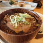 文治郎 - 料理写真:鴨蕎麦