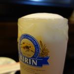 順子 - ドリンク写真:泡まで凍る生ジョッキ