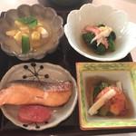 63546344 - 二の膳 (季節の焼き魚・五国の旬の味わい)
