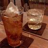 カフェ スタンド - ドリンク写真:ジンジャーエール辛口と山崎12年(氷の美しさに、いつもうっとり)