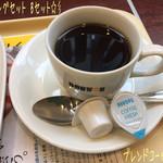 ドトールコーヒーショップ - モーニングセット Bセット(390円)☆彡 あつあつハムチーズ ~2種のとろけるナチュラルチーズ~とブレンドコーヒー(S)♪