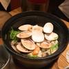 堤 - 料理写真:貝御飯 蛤、小貝、牡蠣、カジカ