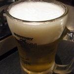 鉄板もつ焼き 焼鳥  きむら屋 - やっぱりビールでしょ!!