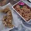 おはぎの店こだま - 料理写真:タコ天とタコ飯