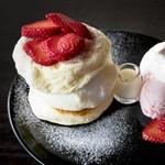 茶香 - 土日限定パンケーキ いちGO