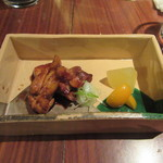 琳 - 「軍鶏の焼物」