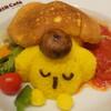 ポムポムプリンカフェ - 料理写真:ポムポムプリンのふわふわスフレオムライス