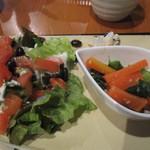 繭蔵 - 繭膳のサラダ