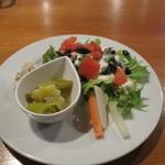 繭蔵 - カレーのサラダ