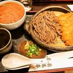 番馬亭 - 料理写真:貪欲セット(そば)