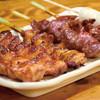てけてけ - 料理写真:焼き鷄の盛り合わせ6種