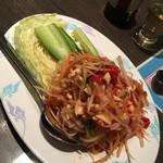 ゲウチャイ - 青パパイヤのサラダ