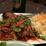 ゲウチャイ - 牛肉と野菜の炒め物
