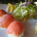 カフェ 閑居 - 手毬寿司